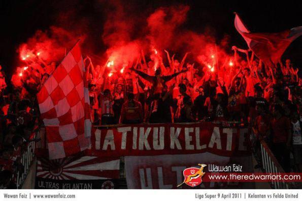 Ultras Kelantan -The Red Mania (Kelantan)